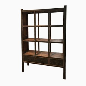 Antique Chinese Shelving Unit