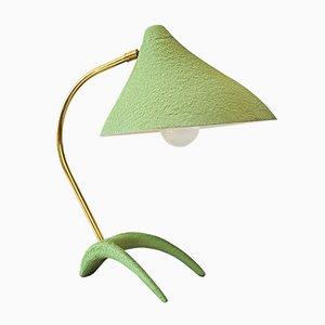 Hellgrüne Tischlampe von Louis Kalff für Philips, 1950er