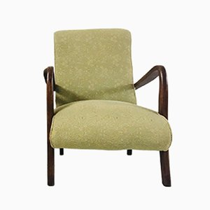 Liberty Club Chair with Mahogany Frame, 1950s