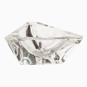 Vintage Kristallglas Aschenbecher von Moser, 1970er