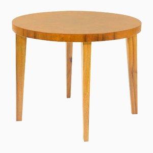 Tavolino da caffè impiallacciato in legno, anni '20