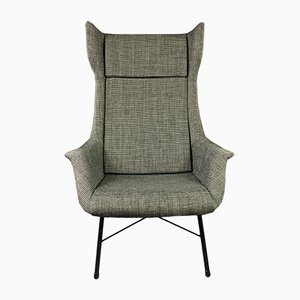 Wingback Armchair by Miroslav Navratil for TON, 1960s