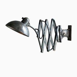Lámpara tijera Moon 6614 vintage de Kaiser Idell, años 30