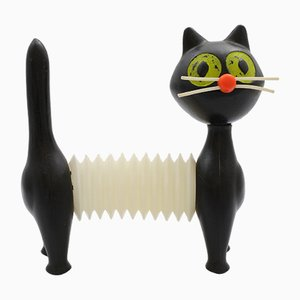 Plastic Toy Cat by Libuse Niklova for Fatra Napajedla, 1960s