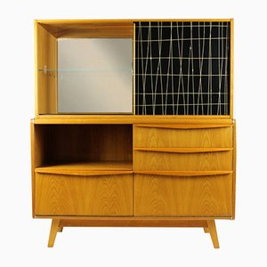 Vintage Bar Cabinet by Bohumil Landsman for Jitona, 1960s