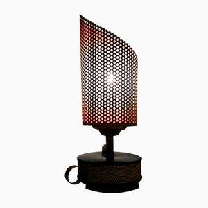 Aluminium Table Lamp from Télé Ambiance, 1950s