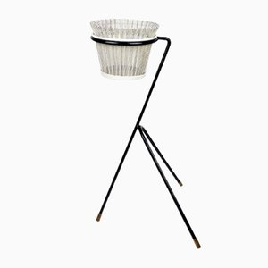 Rigitulle Planter on Stand by Mathieu Matégot, 1950s