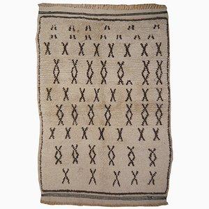 Vintage Moroccan Berber Rug, 1960s