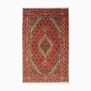Tappeto vintage in lana e seta, Medio Oriente, anni '50