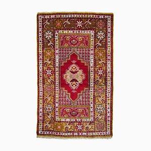 Tappeto da preghiera vintage di lana, Turchia, anni '60