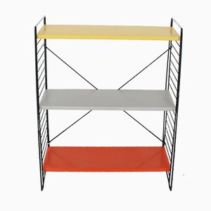 Vintage Metal Shelving Unit by A. Dekker for Tomado, 1960s