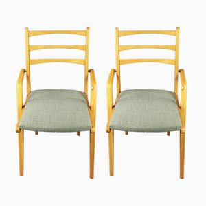 Vintage Czechoslovakian Chairs, 1960s, Set of 2