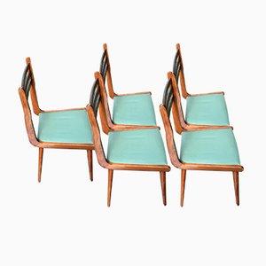Vintage Stühle von Paolo Buffa, 1960er, 5er Set