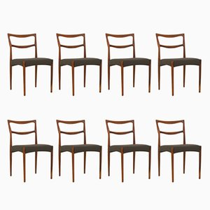 Danish Rosewood Dining Chairs by H.W. Klein for Bramin, 1963, Set of 8