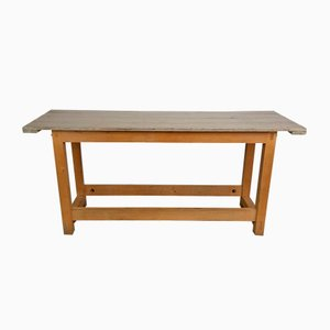 Table Console Industrielle Vintage