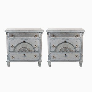 Vintage Gustavian Style Chests, 1930s, Set of 2