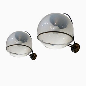 Mid-Century Wall Lights by Gino Sarfatti for Arteluce, Set of 2