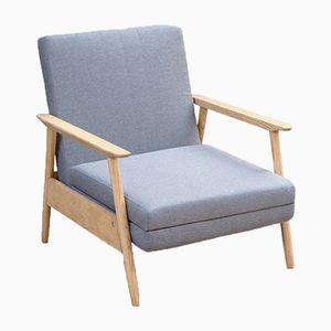 Reclining Lounge Chair by Valerija Ema Cukermanienė for Šiaulių Ventos Baldų Fabrikas, 1960s