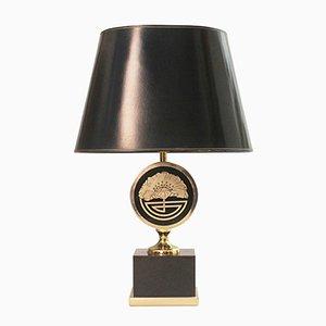Lampada in ottone di Maison Jansen, Francia, anni '70