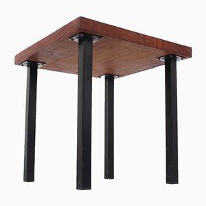 Petite Table d'Appoint Mid-Century en Teck Massif, 1960s