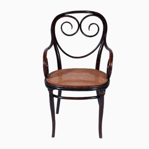 Antique Bentwood No. 2 Armchair by August Thonet for Thonet, 1895