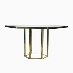 Italian Table by Romeo Rega for Metalarte, 1970s
