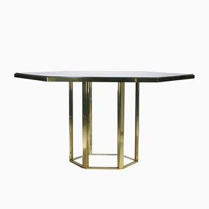 Italienischer Tisch von Romeo Rega für Metallarte, 1970er