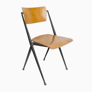 Vintage Pyramid Chair von Wim Rietveld für Ahrend de Cirkel, 1960er