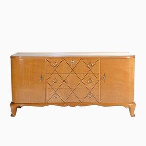 Sycamore Dresser by René Prou, 1940s