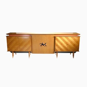 Large Modernist Sideboard in Cherry, 1950s