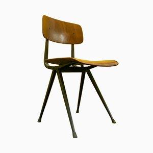 Dark Grey Frame Result Chair by Friso Kramer & Wim Rietveld for Ahrend De Cirkel, 1969