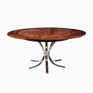 Mid-Century Rosewood Lotus Flip-Flap Table from Dyrlund