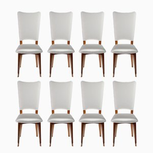 Chaises Scandinaves en Teck, 1960s, Set de 8