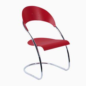 Roter S36 Stuhl von Thonet, 1970er