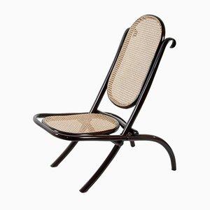 Nr. 1 Karmin Stuhl von Michael Thonet für Thonet