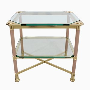 Limited Edition Italian Brass Coffee Table from Vivai del Sud, 1960s