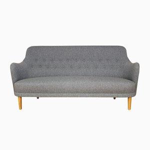 Swedish Samsas Three-Seater Sofa by Carl Malmsten for O. H. Sjogren, 1960s
