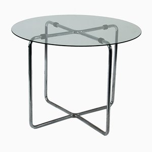 Glass Table by Marcel Breuer for Thonet, 1930s