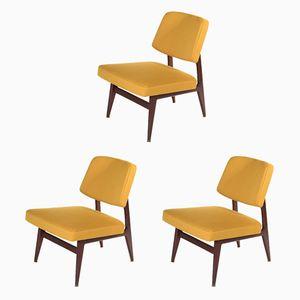 Chaises No. 681 Mid-Century par Günther Eberle pour Thonet, 1965, Set de 3