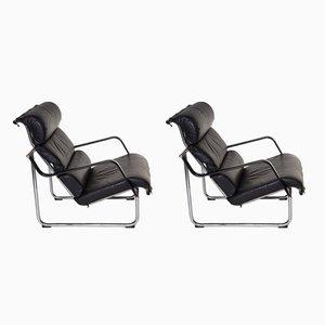 Remmi Lounge Chairs by Juri Yrjö Kukkapuro for Avarte, 1970s, Set of 2