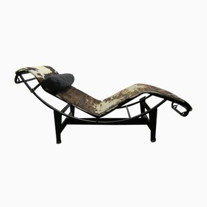 LC4 Chaise Lounge von Le Corbusier, Pierre Jeanneret, & Charlotte Perriand für Cassina, 1970er