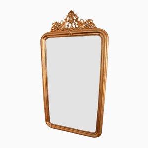 Antique German Golden Mirror