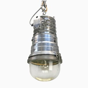Aluminium Industrial Explosion Proof Pendant Light from EOW, 1978
