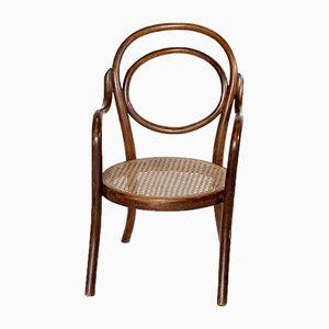 Antiker Nr. 1 Kinder Armlehnstuhl aus Bugholz von Thonet