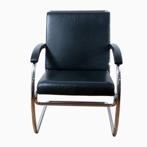 K147 Cantilever Lounge Chair by Anton Lorenz for Thonet, 1980s