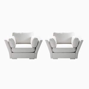 Large Armchairs from Maison Jansen, 1960s, Set of 2