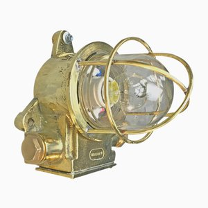 British Brass Industrial Light from Brassuk, 1972