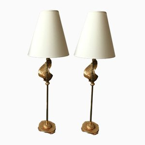 French Lamps by Nicolas De Wael for Fondica, 2000, Set of 2