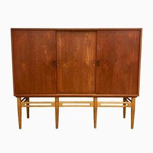 Danish Model 90 Teak Cabinet by Illum Wikkelso for Soren Willadsen, 1950s