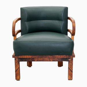 Art Deco Lounge Chair, 1920s